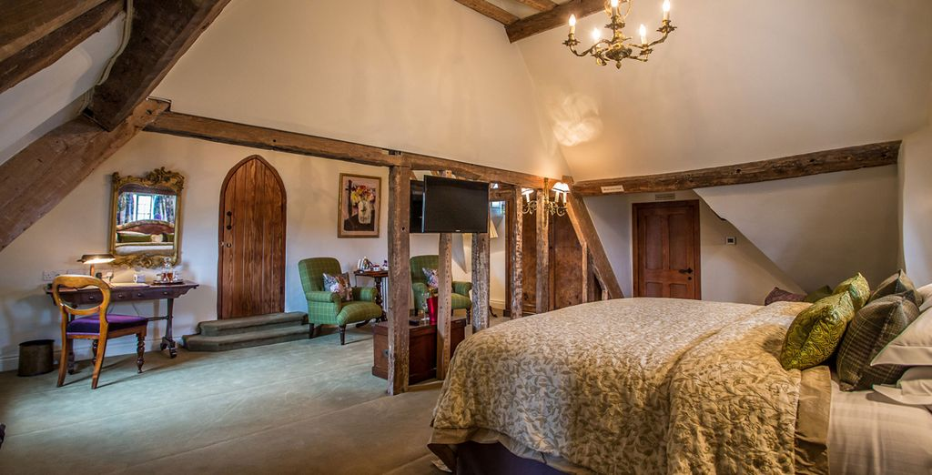 Each room is brimming with historic charm