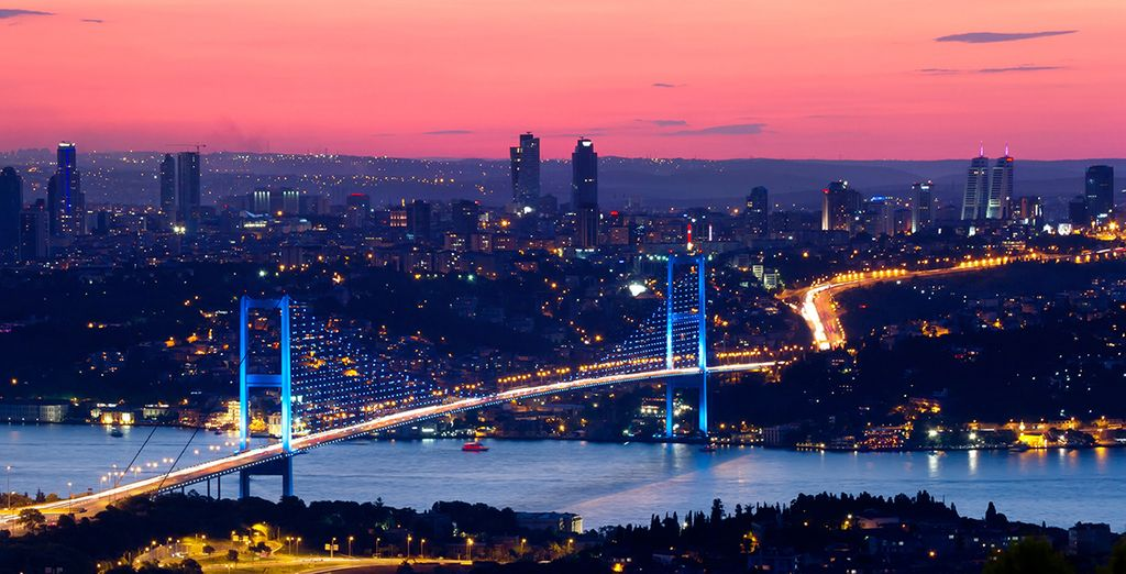 Istanbul – a mesmerising mix of east and west