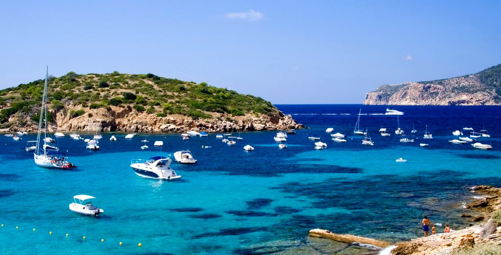And the crystal clear waters of Mallorca