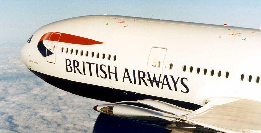 Fly with British Airways for maximum comfort!