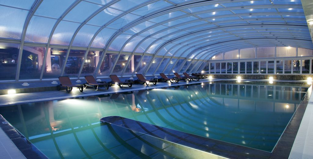 Give yourself some time relaxing at the wellness centre