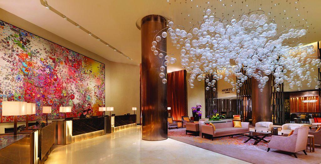 A luxury, charming hotel