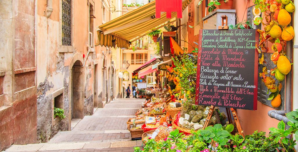 Set in the heart of beautiful Taormina