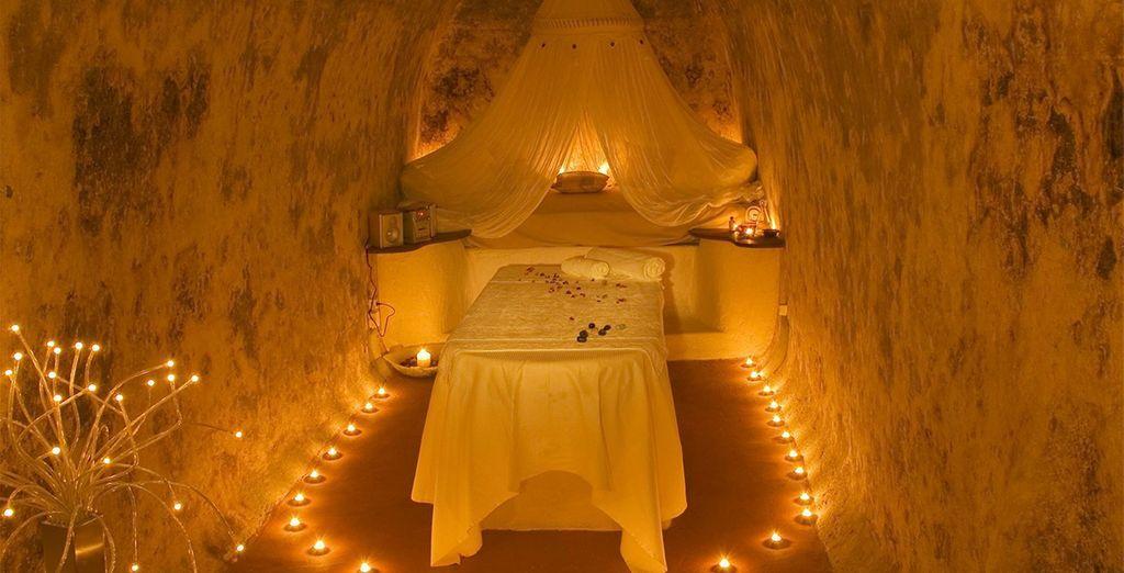Or an indulgent massage inside...