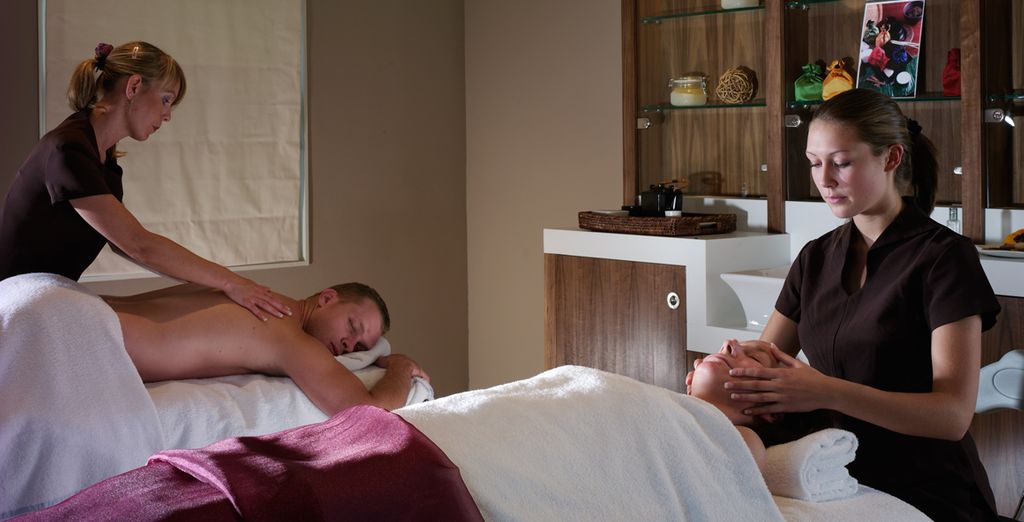 And offering a ranfe of relaxing treatments