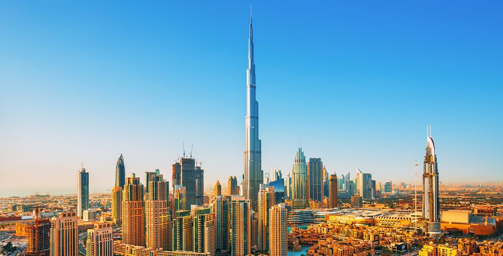 You may choose to end your adventure with a stay in Dubai!