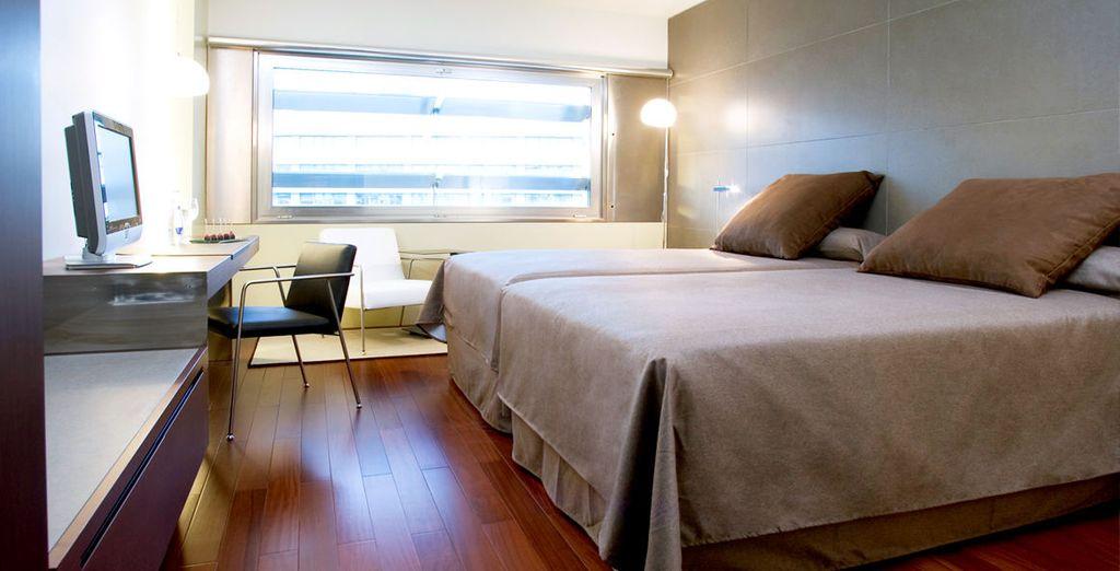 Where you are guaranteed an upgrade to a Premium Room