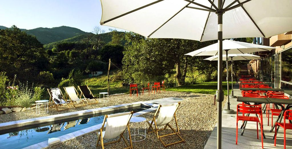 For a unique experience in the heart of idyllic natural surroundings...