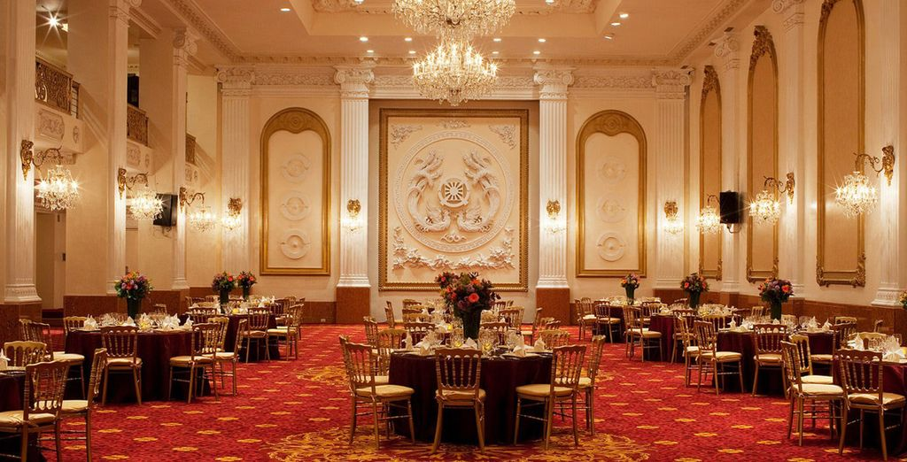 As well as grand halls sure to please the eye