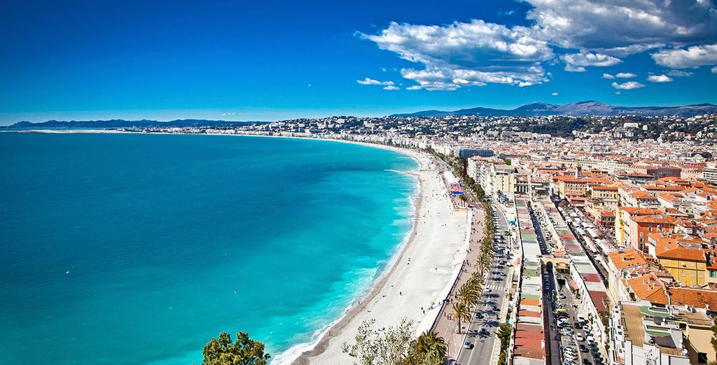 Explore the sun-drenched city of Nice