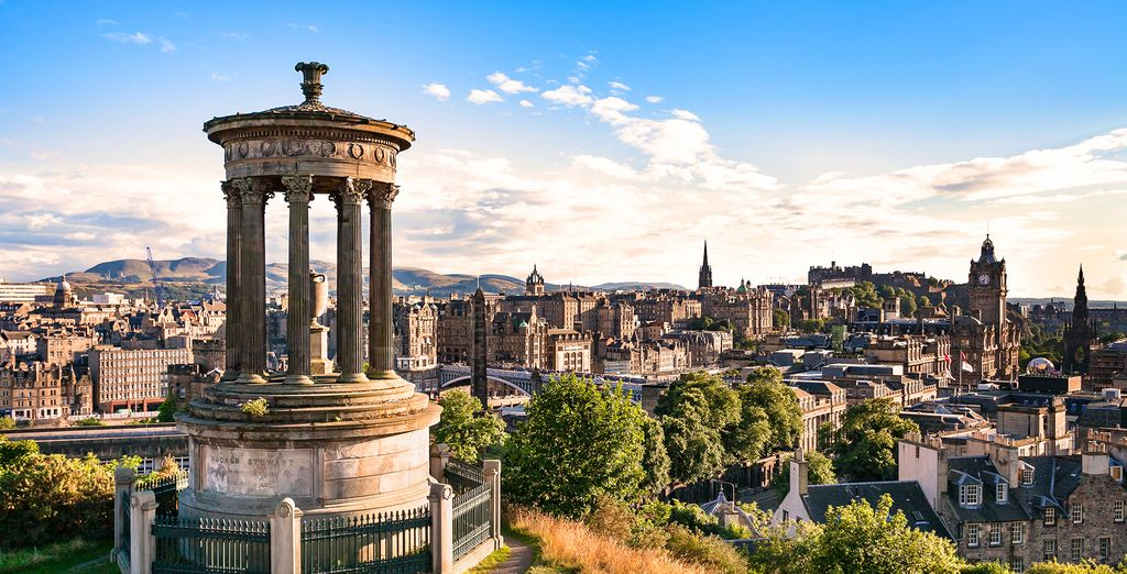 Culture vultures will soar to new heights when discovering the hilltop gems of Edinburgh