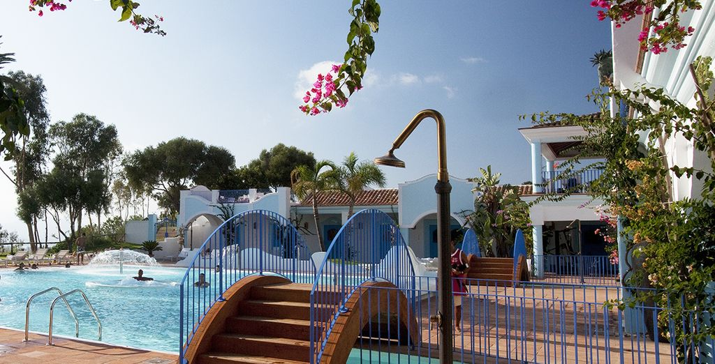 The resort has a wealth of leisure facilities