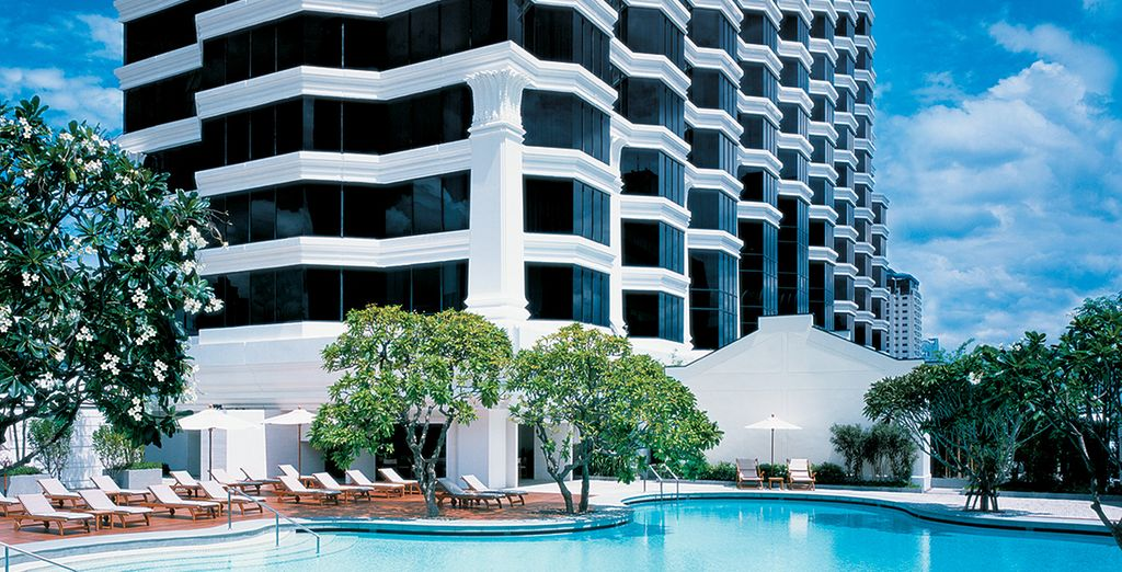 Where you can enjoy a 3 night stay at this 5* hotel