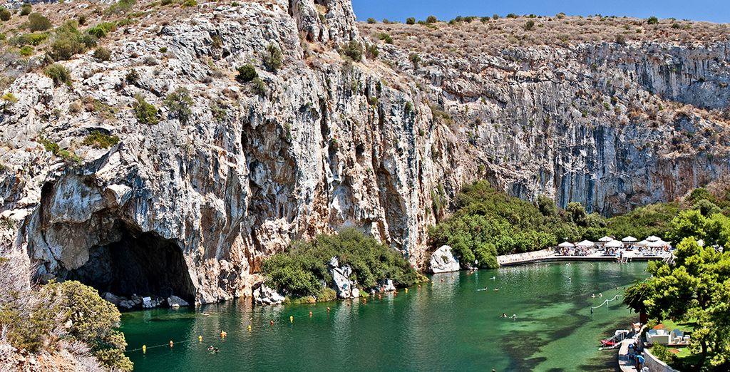 Explore the Peninsula of Vouliagmeni