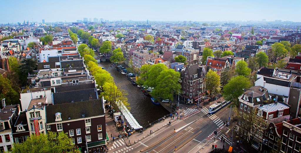 Everything Amsterdam has to offer is on your doorstep