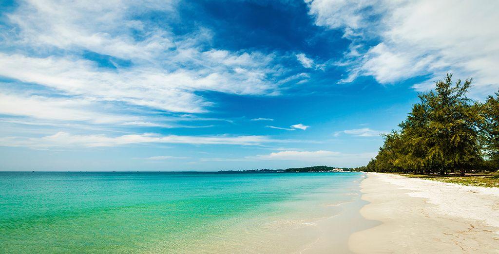 And the stunning beaches of Sihanoukville