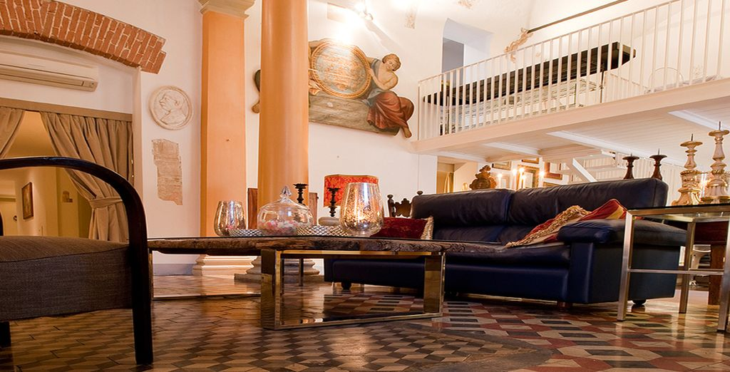 Before returning to the calm surroundings of your boutique hotel