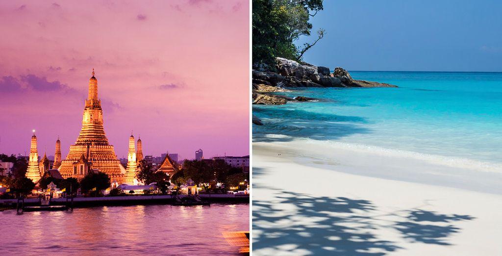 Experience two luxury hotels in Bangkok and Hua Hin - Royal Orchid Sheraton & Cape Nidhra 5* Bangkok & Hua Hin