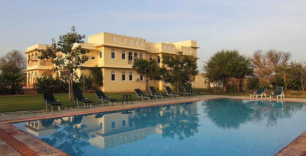 Ranthambore Regency with a great pool