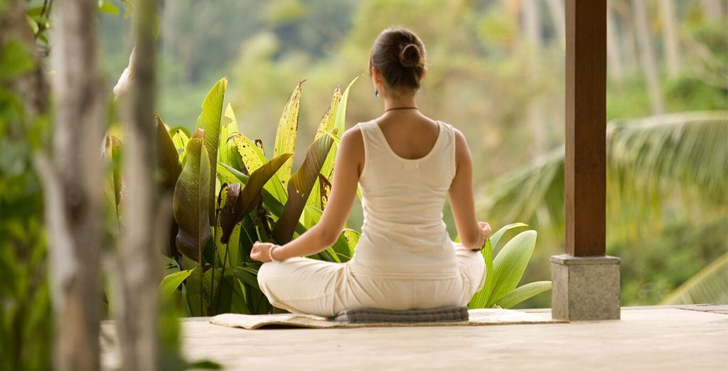 Recharge with daily yoga...