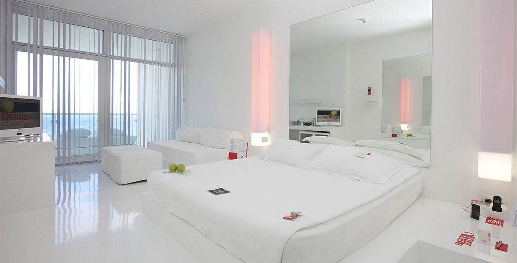 Choose from a Deluxe Room