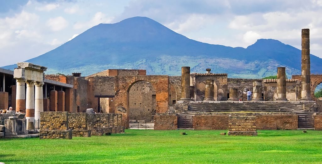 You may choose to add excursions to Pompeii...