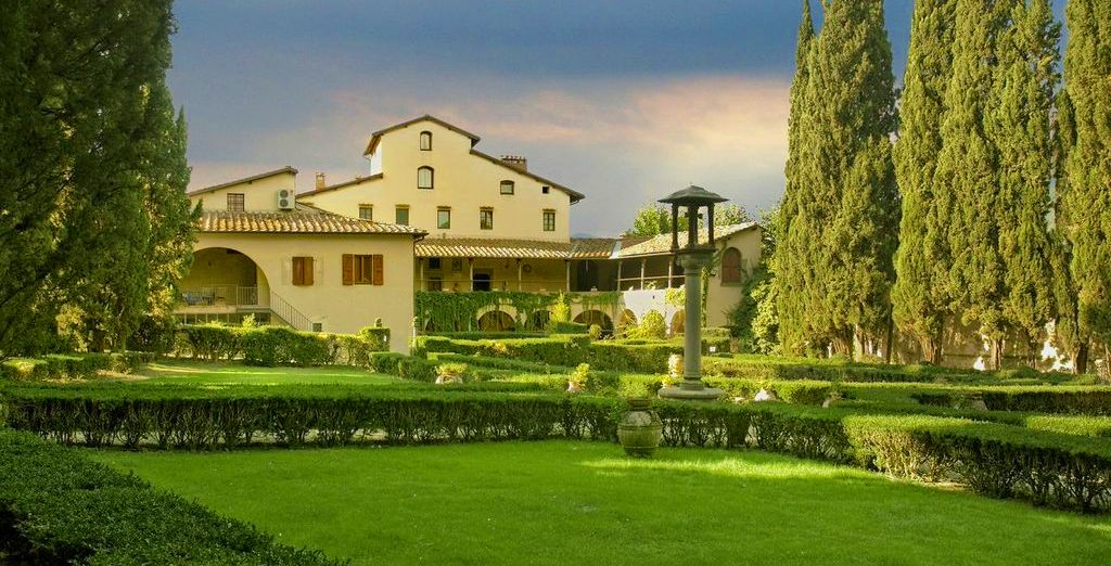 The Hotel Villa Casagrande provides a haven of rest & relaxation in the heart of Tuscany
