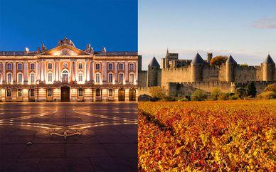 Kombireise 5 * Pullman Toulouse und DoubleTree by Hilton Carcassonne