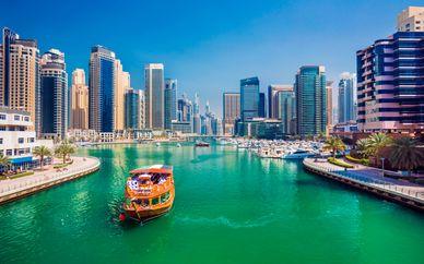 Puente de diciembre en Dubái