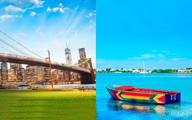 Combinado Nueva York 4* y Hideaway at Royalton Negril 5*