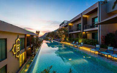 Mai House Patong Hill 5* avec pré-extension possible à Bangkok