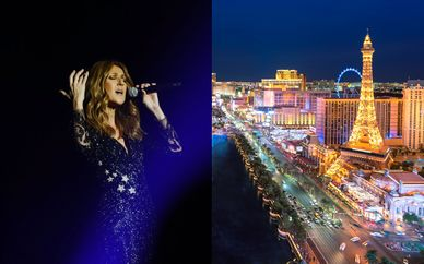 Caesars Palace 4*, Céline Dion et séjour possible à New York