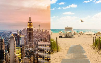 Combiné 4* Freehand New York et Royal Palm South Beach