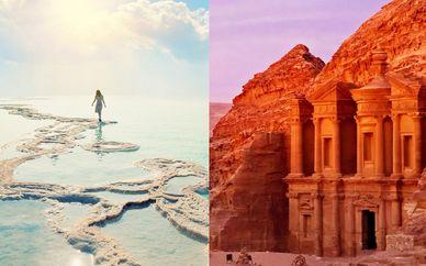 Circuit d'Israël à la Jordanie