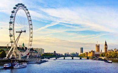 London Eye e crociera sul Tamigi - soggiorno al Thistle Kensington Gardens London 4*