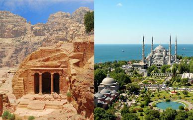 Tour della Giordania in libertà con possibile estensione a Istanbul