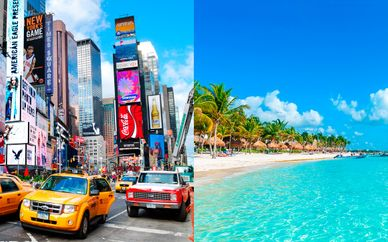 AC Hotel by Marriott New York Times Square 4* & Barcelo Maya Caribe 5*