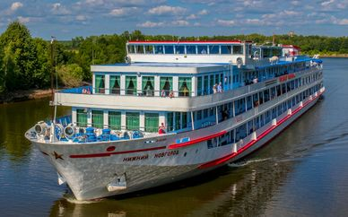 4* or 5* River Cruise from St. Petersburg to Moscow