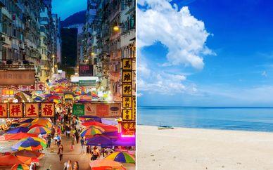 Hong Kong, Bangkok & Hua Hin 4/5*