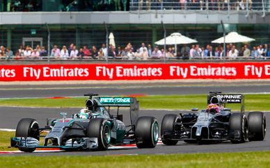 Force India 2017 British Grand Prix Hospitality & VIP Garden Party with Malmaison Oxford Stay 4*