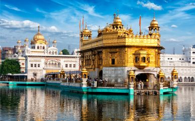 Tour of India's Golden Triangle & Amritsar