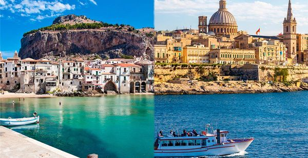 Combiné Sicile et Malte