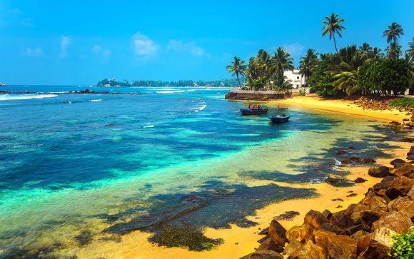 Rondreis + strandverblijf in Wadduwa