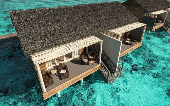 You & me by cocoon maldives 5* adults only voyage privé: tot 70%
