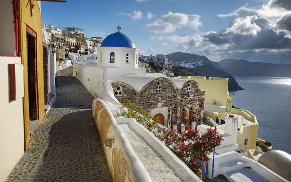 Willkommen auf... Santorini