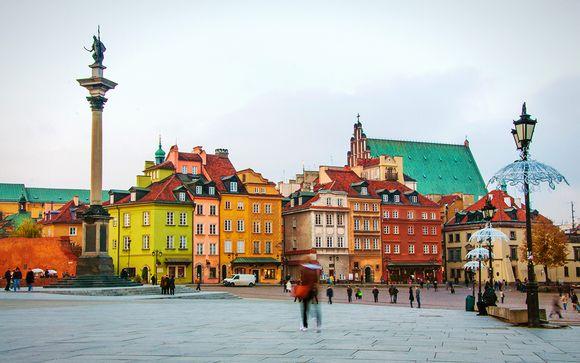 Willkommen in... Warschau!