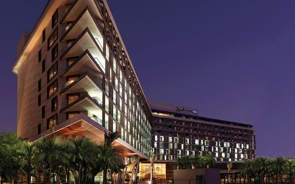 Radisson Blu Yas Island Hotel Abu Dhabi 4*