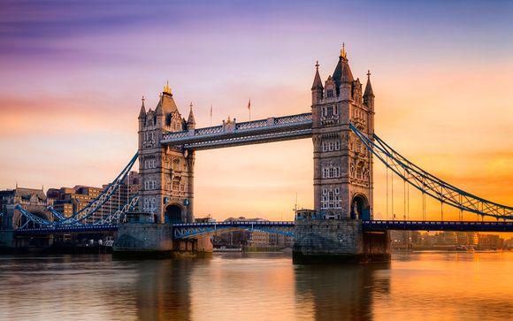 Willkommen in ... London!