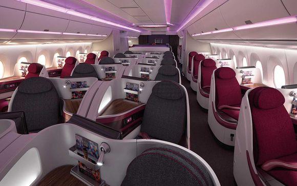 Gönnen Sie sich Luxus mit Qatar Airways