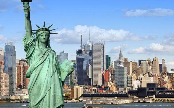 Willkommen in... New York City!